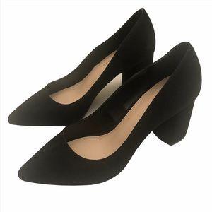 Kelly & Katie block heel black high heel shoes